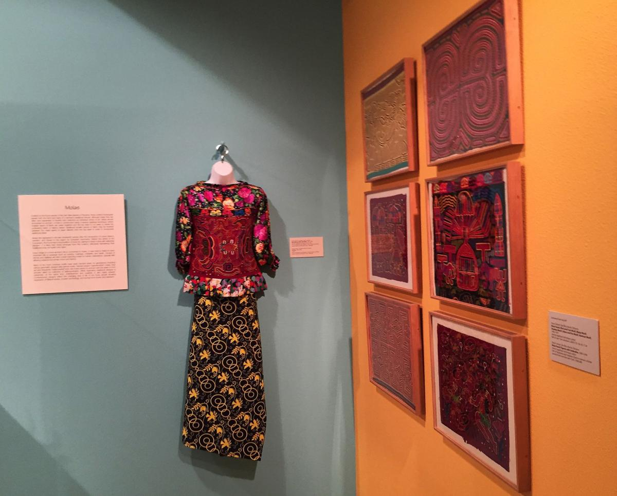 Mola craft has fans worldwide Tiny stitches, bright colors, layers of cloth part of appeal