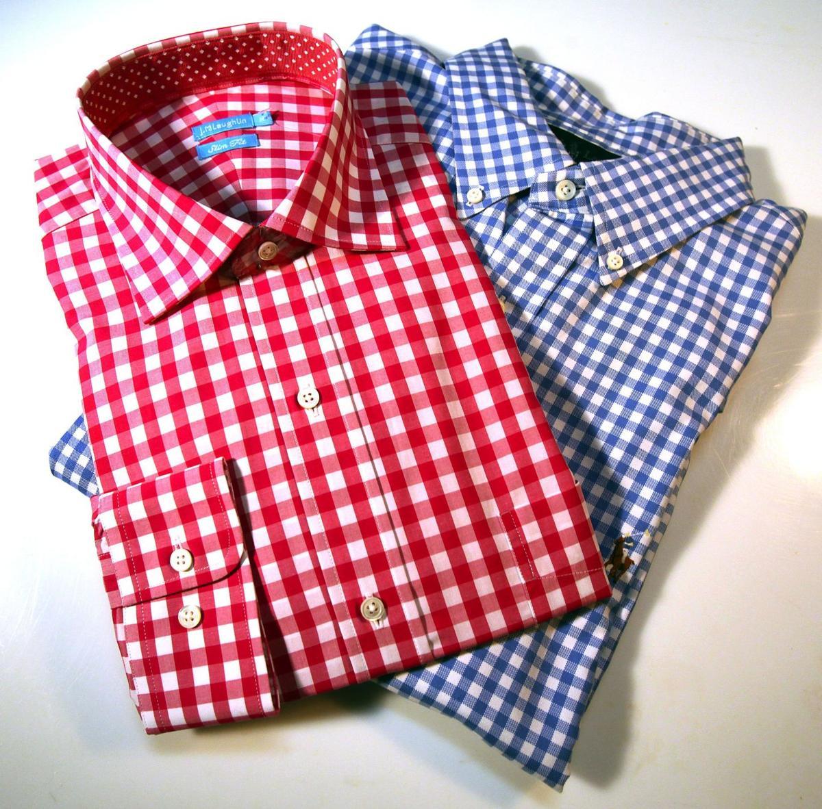 Men's Fashion: Gingham