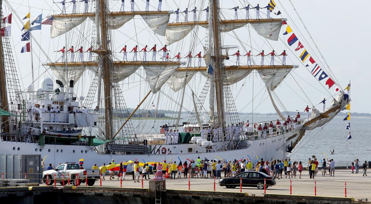 Tall ship brings Colombian culture and history to Union Pier
