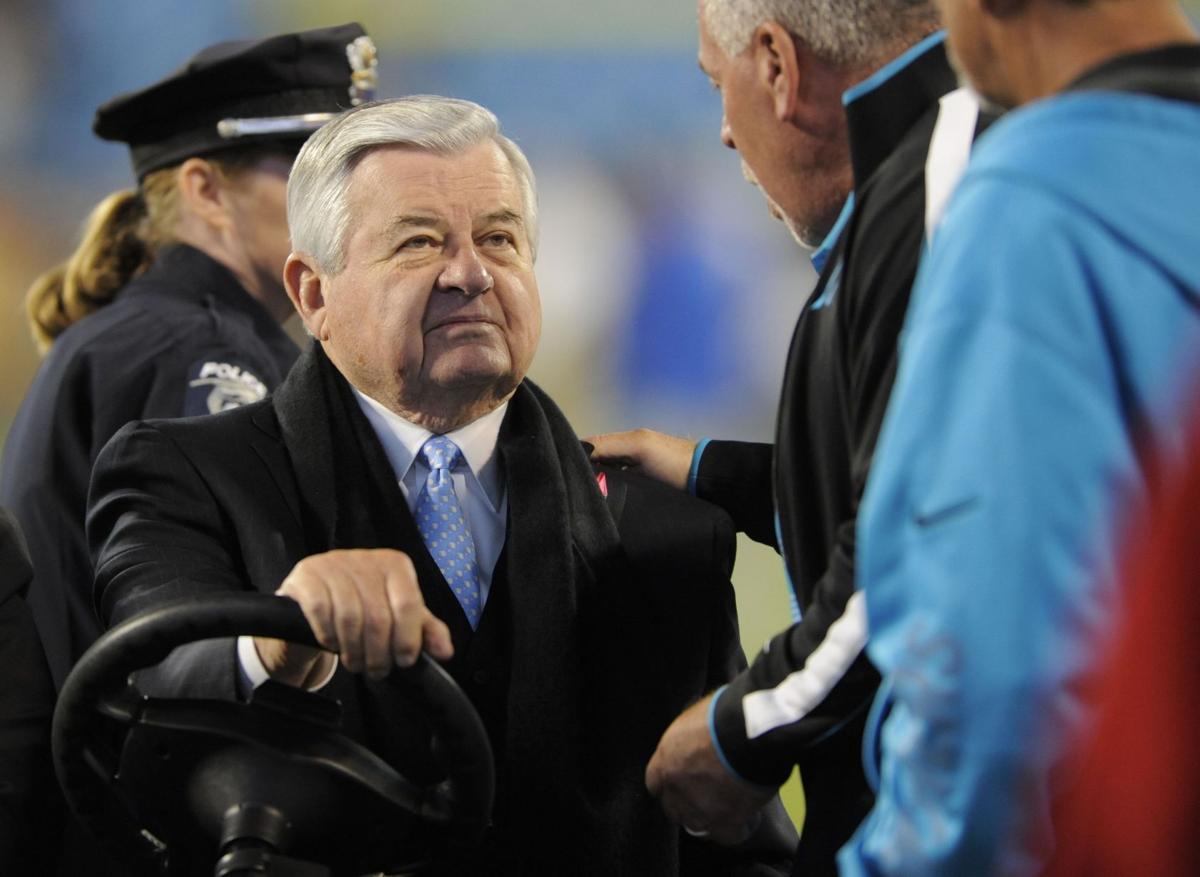 Carolina Panthers owner Jerry Richardson