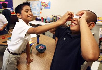 Area sees diverse youth: Pepperhill class focuses on speakers of other languages