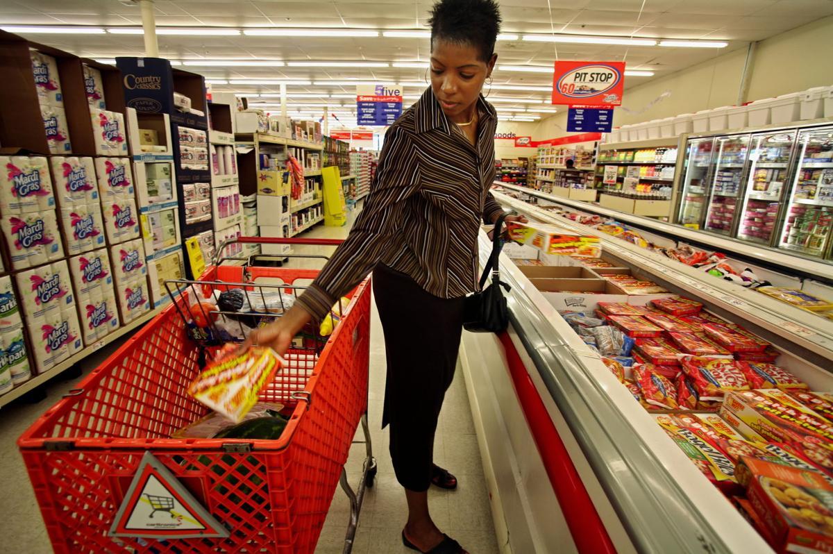 Supermarket pain