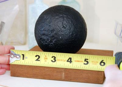 Is old cannonball a curiosity or dangerous explosive