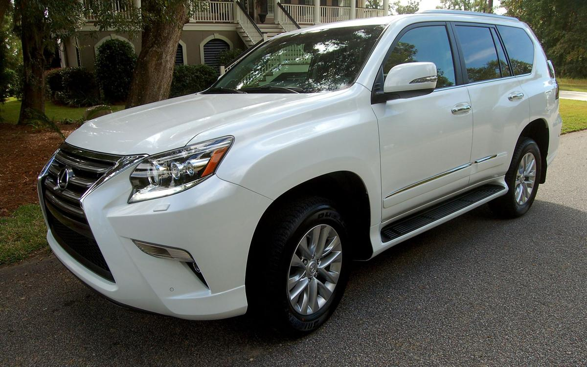 Luxury Large: Newly retouched Lexus GX boasts supple ride, family niceties with boat-towing SUV toughness