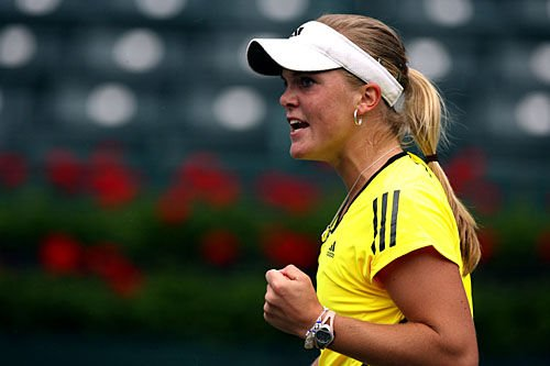 Oudin charms the Family Circle crowd