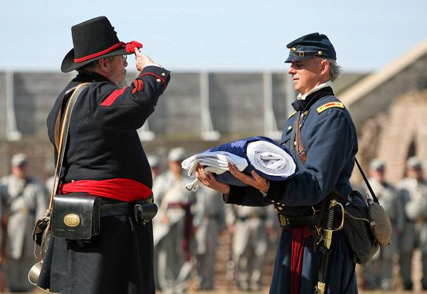 Few blacks attend Civil War anniversary events