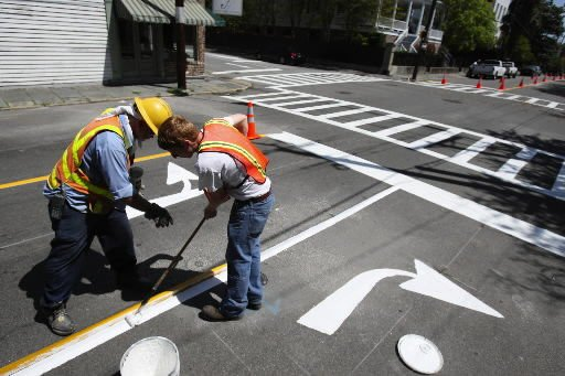 Strip of Rutledge Ave. goes 2-way today