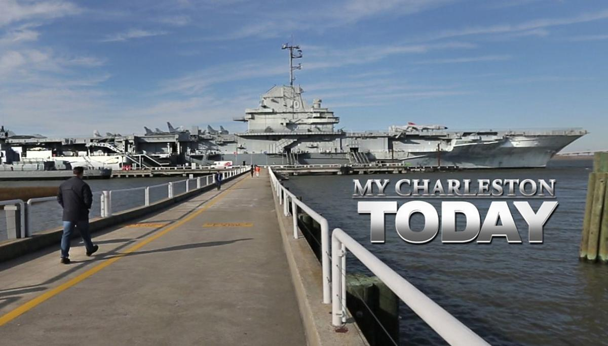 """My Charleston Today: The Yorktown is getting ready for """"Pay What You Can"""" weekend at Patriots Point"""