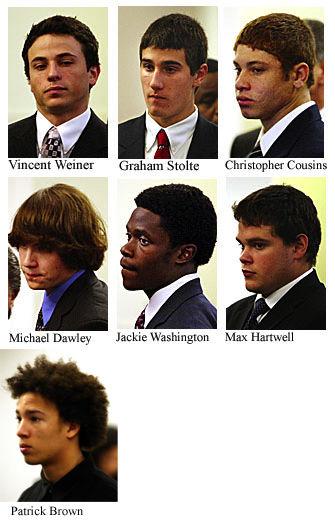 Seven teens plead guilty in robbery