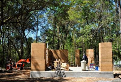 Old is new again Ancient rammed earth construction gets a modern twist on Johns Island
