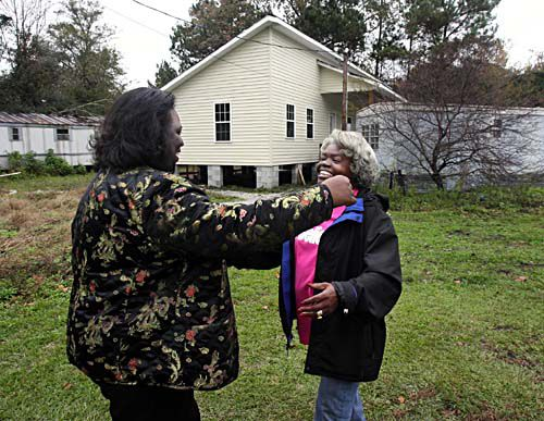 Charleston Place employee heads up effort to help Rural Mission finish 2 homes for local folks in need