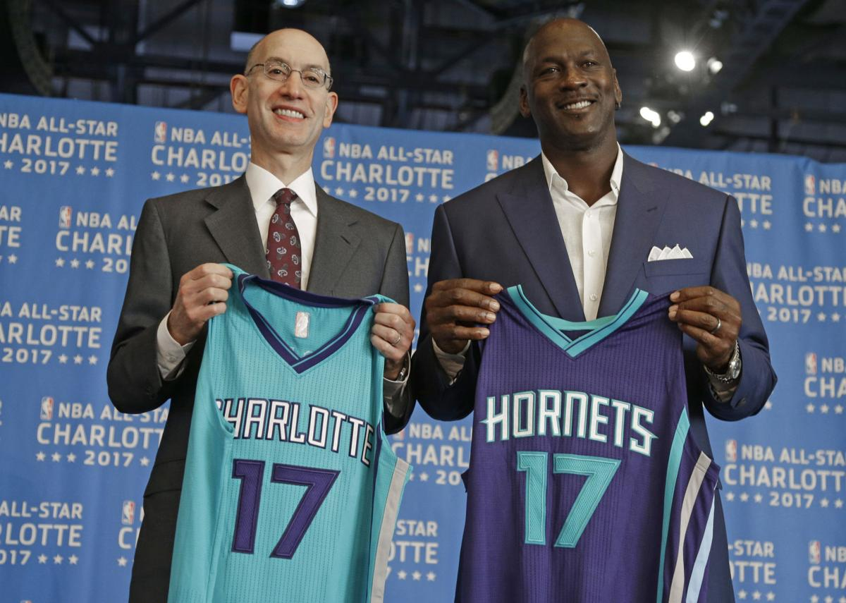 NBA decides to move the All-Star Game from Charlotte