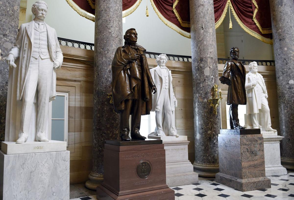 US Capitol's Confederate statues prompt renewed debate