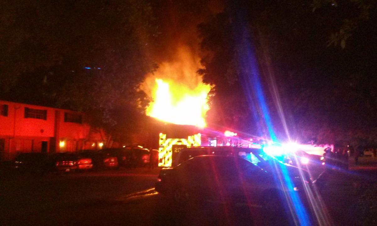 Hanahan fire destroys six apartments