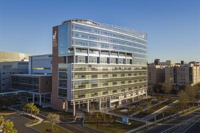 The MUSC Shawn Jenkins Children's Hospital and Pearl Tourville Women's Pavilion.