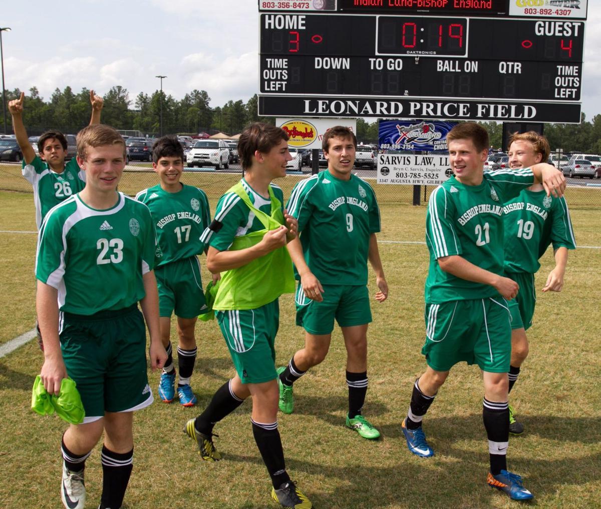 Bishop England wins 16th boys soccer state championship