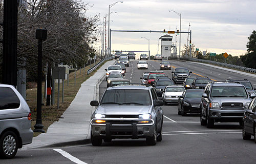 Traffic signals can slow motorists