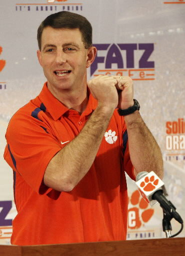 Swinney says Tigers 'hit on all of our needs'