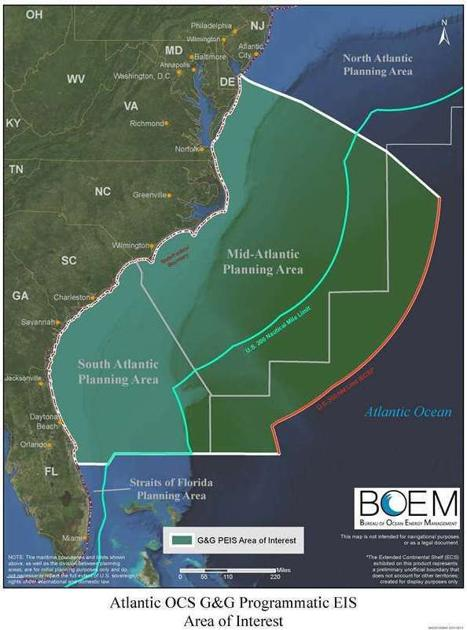 SC court rules permits can't go out for seismic testing offshore