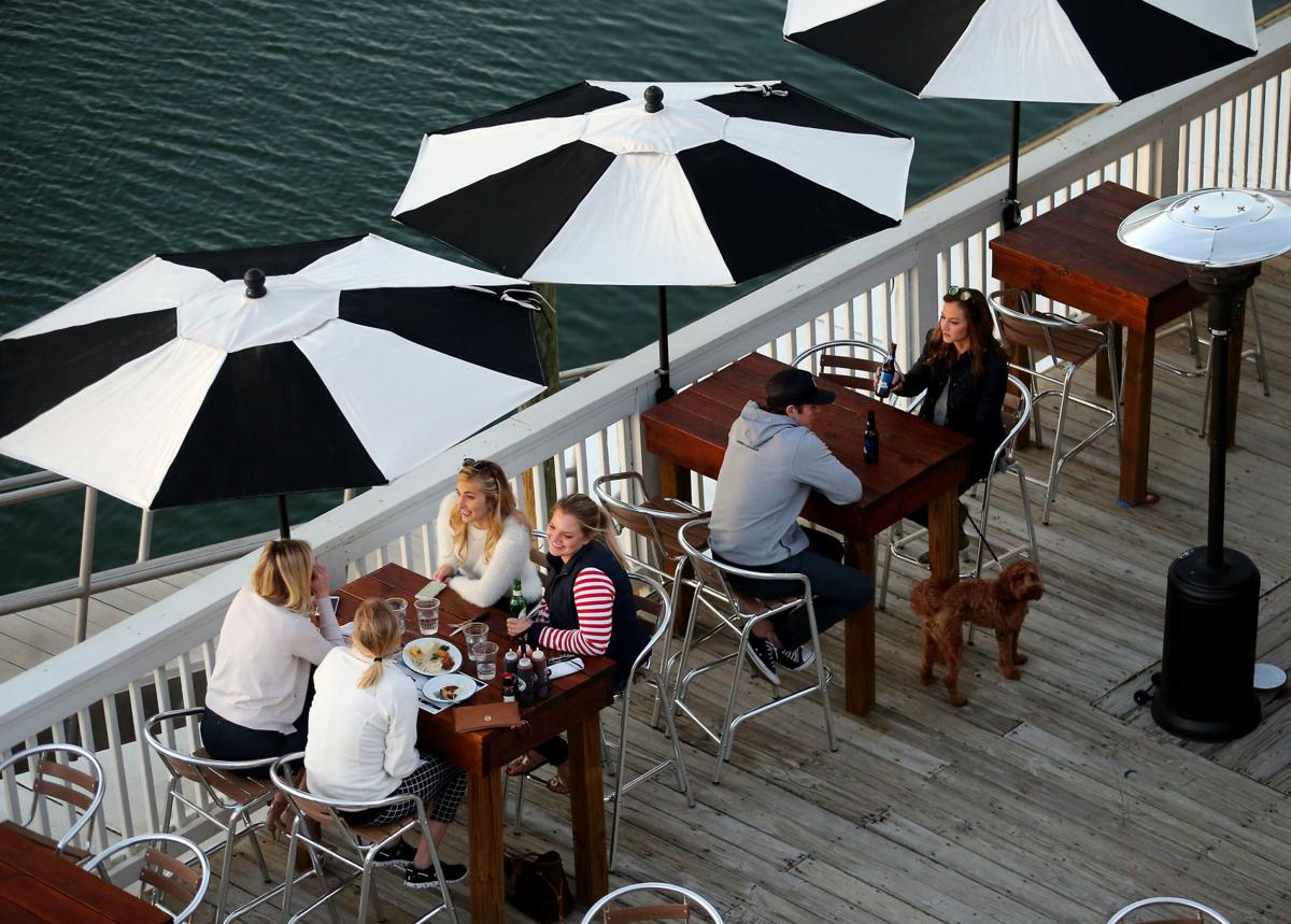 Outdoor dining has become very popular