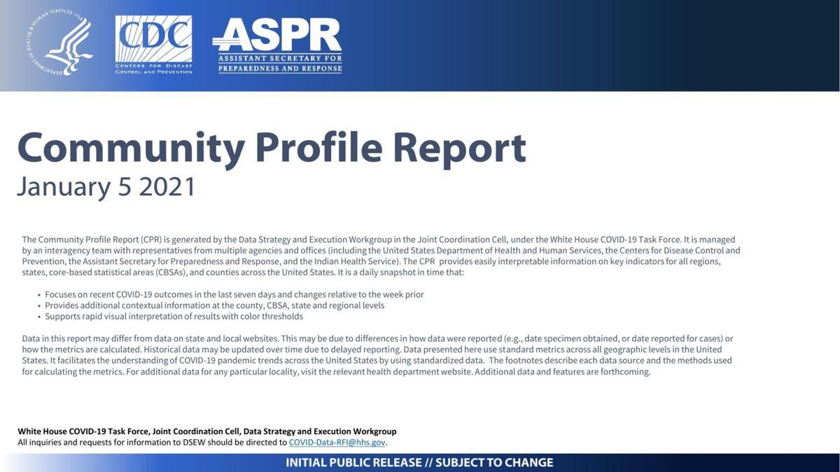 Jan. 5, 2021 Community Profile Report