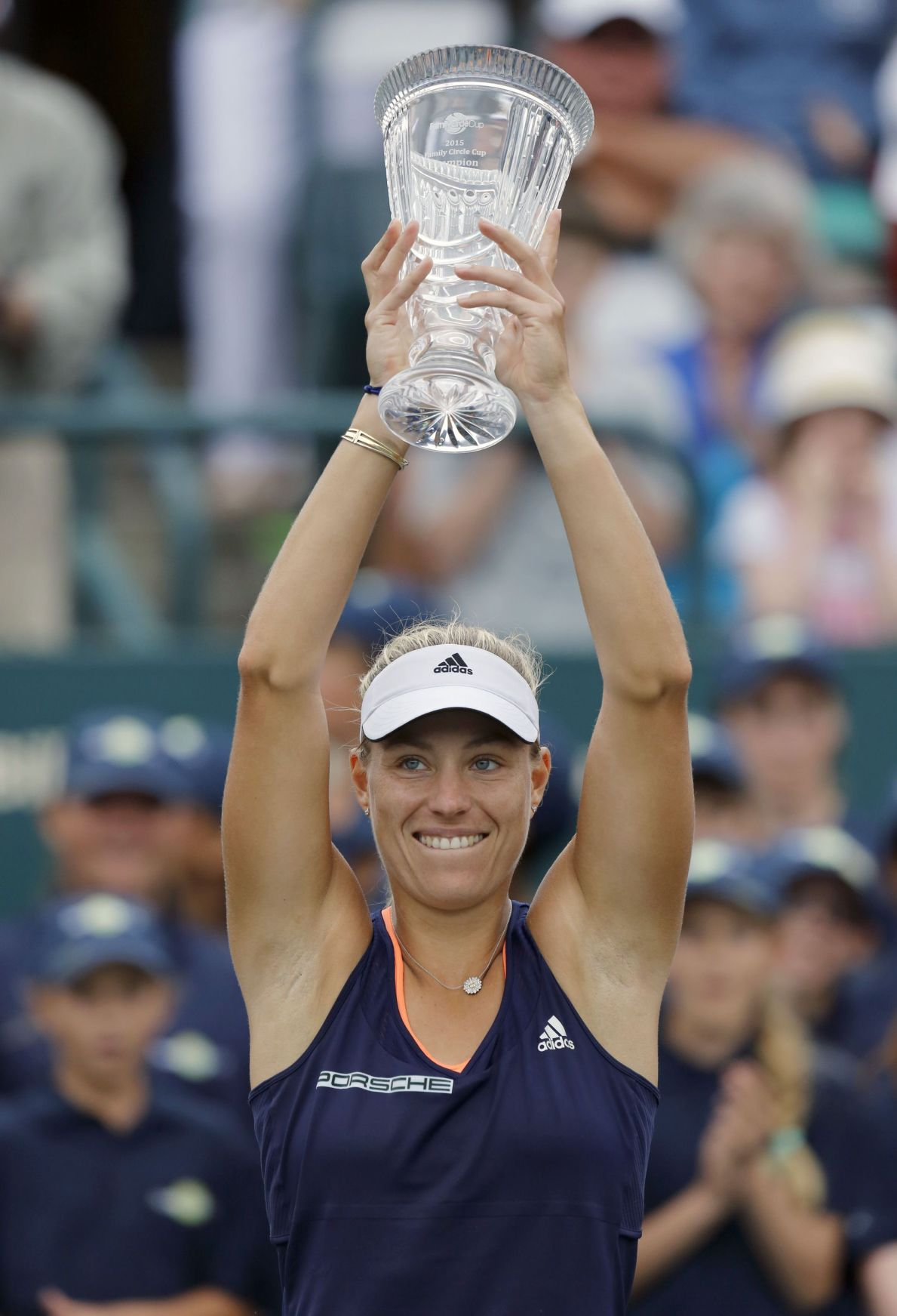 For Kerber, 'everything clicked' in Charleston