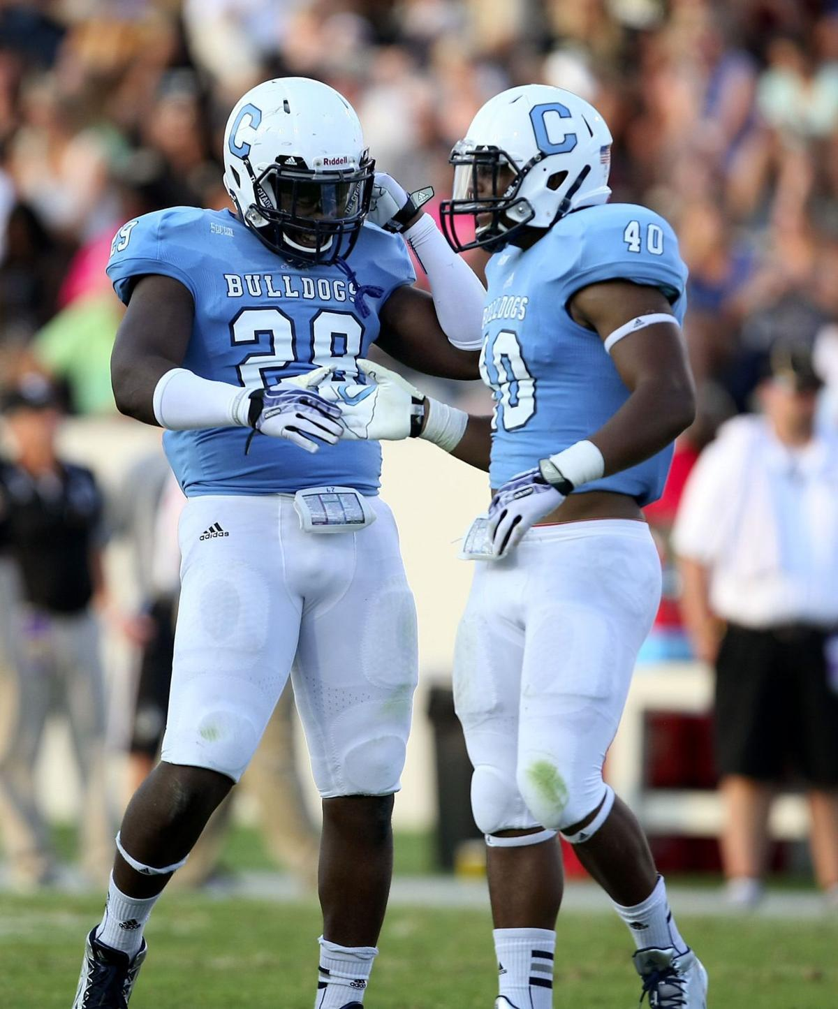 Citadel position report: Bulldogs' linebackers 'heart of the team'