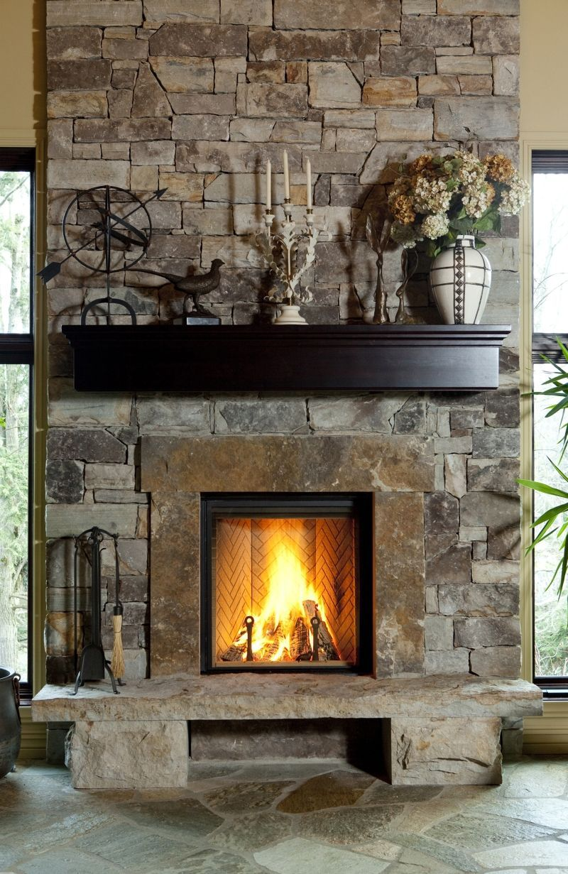 Today's fireplace a focal point for entertaining