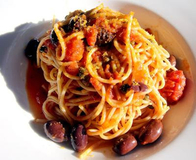 Diner's dictionary: Cured fish roe adds umami to pasta