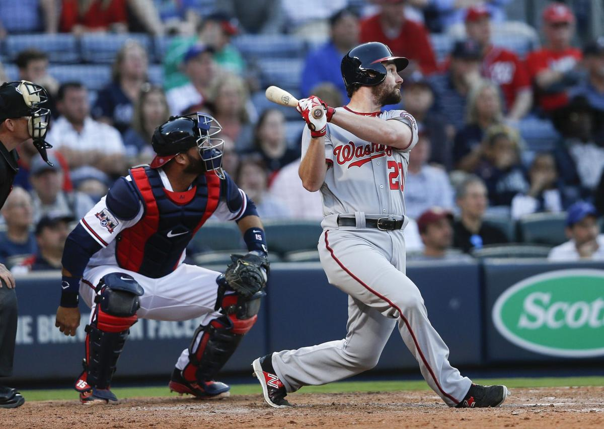 Nationals escape Braves in 10