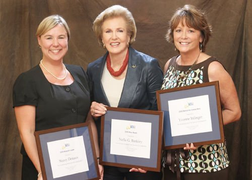 Three area women honored for leadership in community