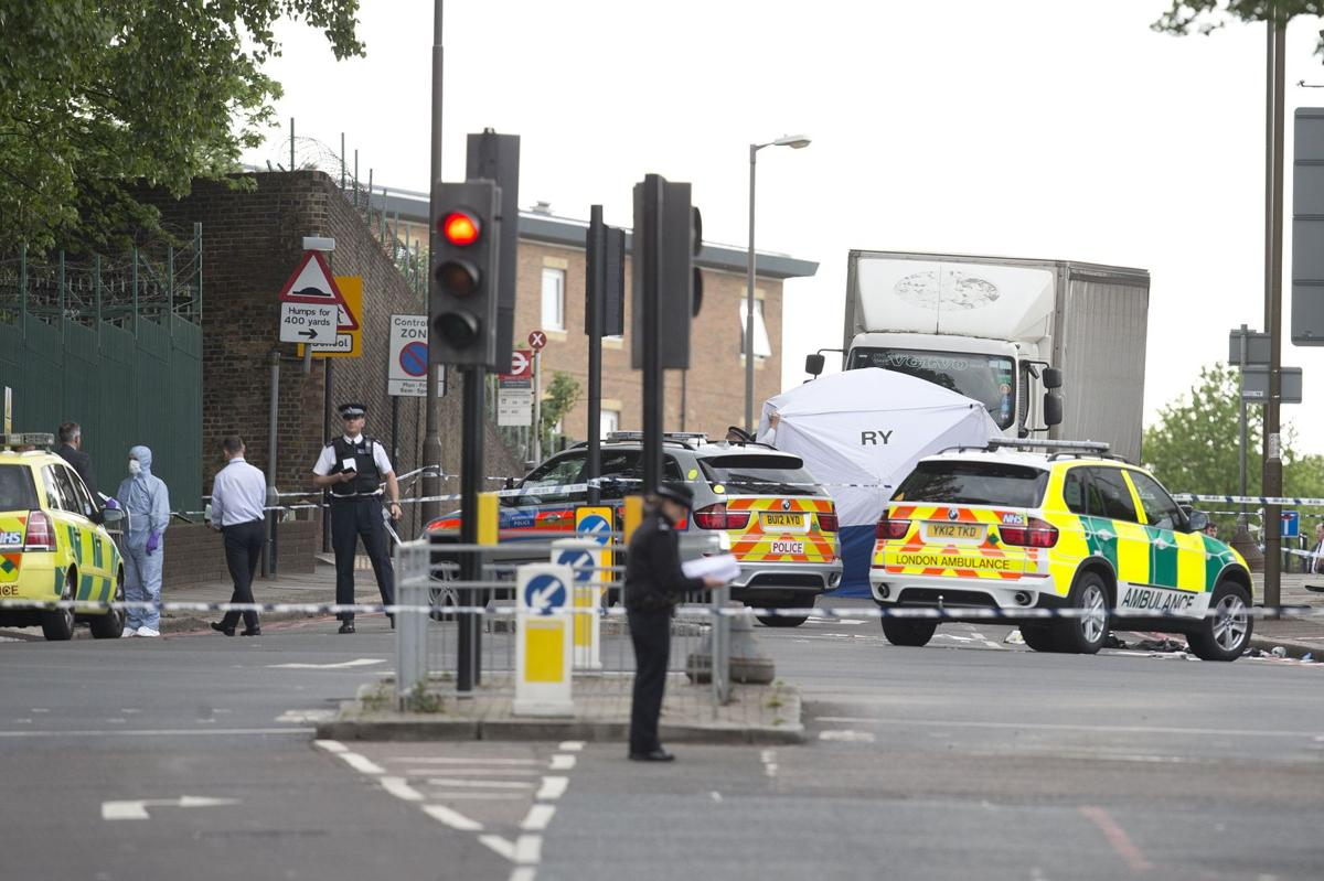 Britian's Cameron says there are indications fatal attack was terror-related