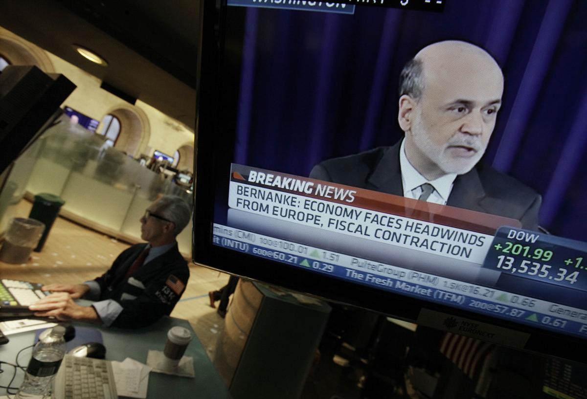 When Fed talks, markets listen Stocks soar on central bank's plan