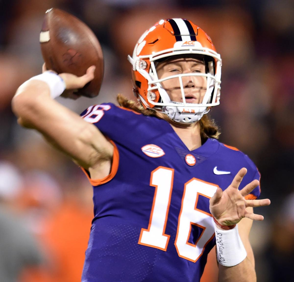 new styles 5300b 07e81 Clemson QB Trevor Lawrence ready to take center stage for ...