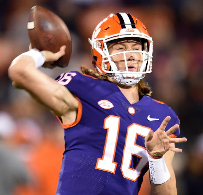 Clemson QB Trevor Lawrence ready to take center stage for ...