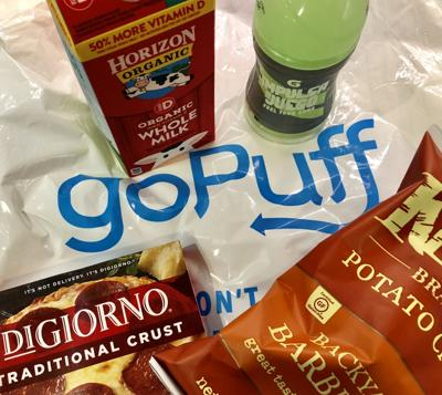 GoPuff convenience store delivery