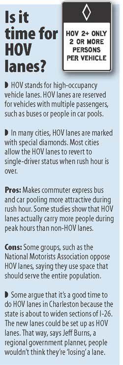 Planners seek HOV lane input
