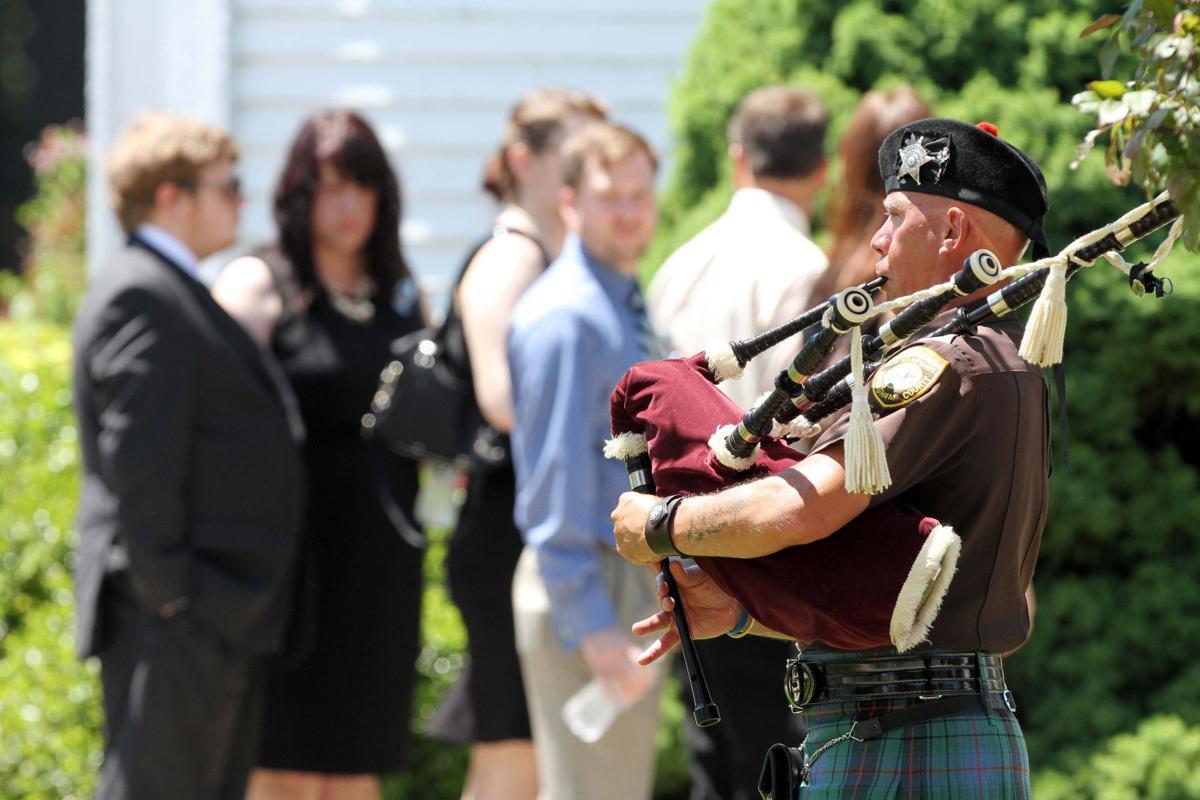 Memorial held for mother of Newtown gunman