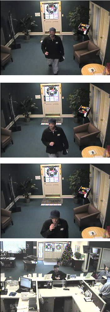 Police seek suspect in Summerville bank robbery