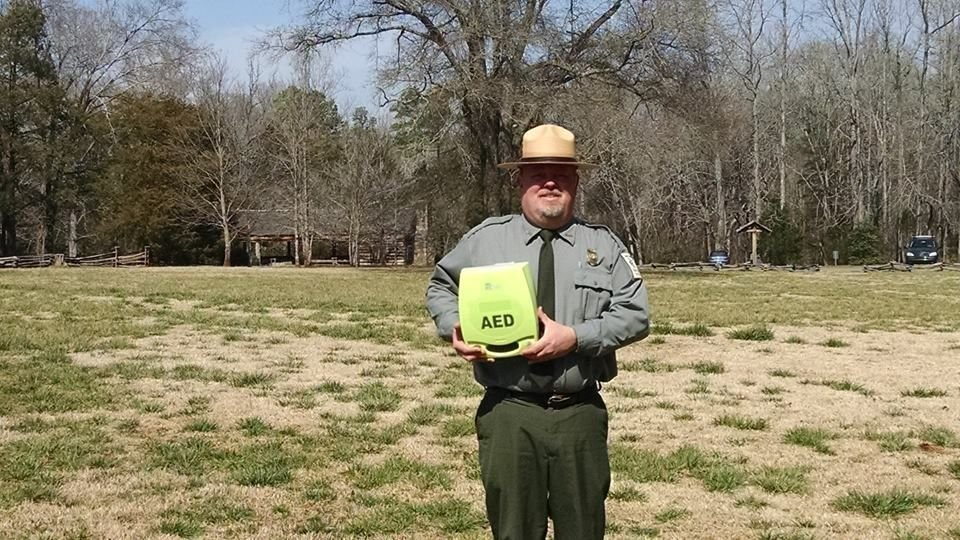 South Carolina state parks getting heart defibrillators