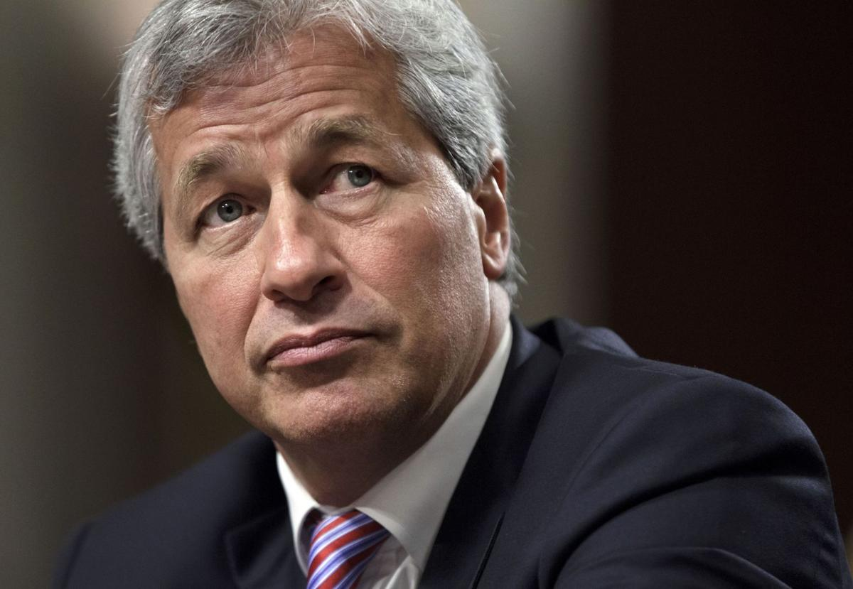 JPMorgan CEO says more to be done on cyberattacks (copy)