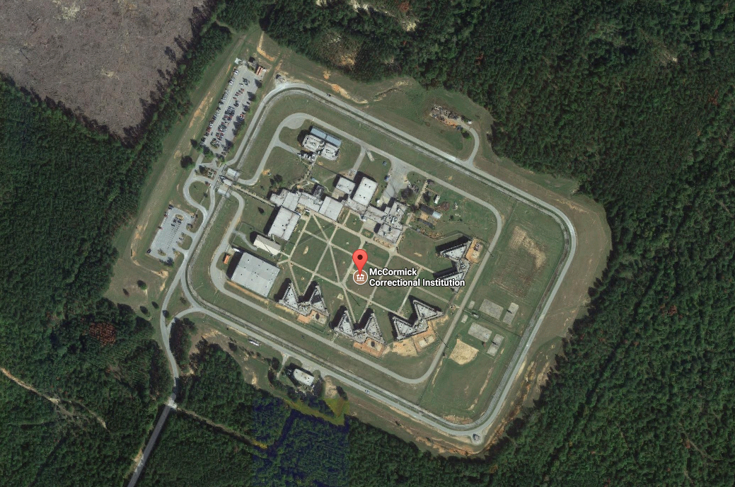 facility secured after handful of high security inmates climb on mccormick county prison roof