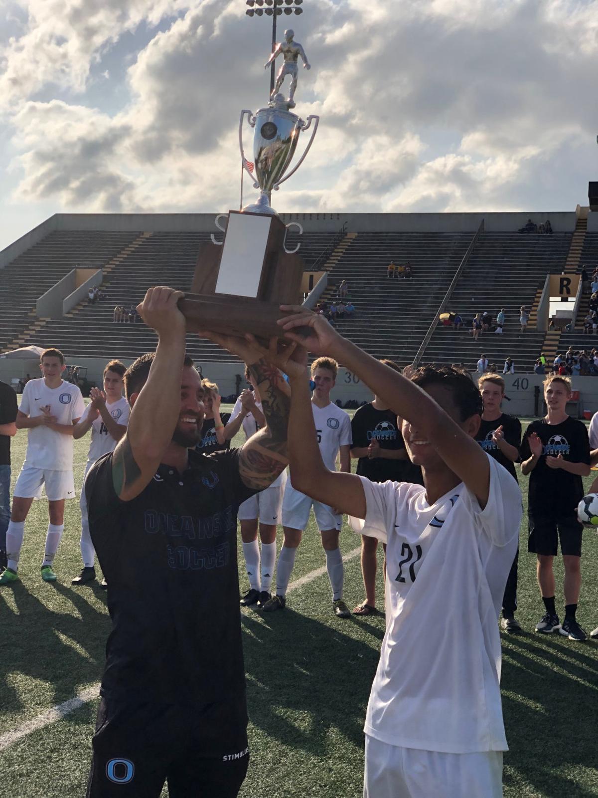 Oceanside Collegiate soccer championship