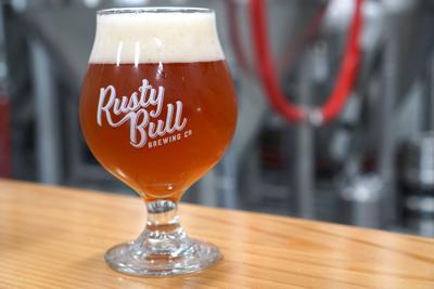 Rusty Bull Cap'n Nut Crunch beer