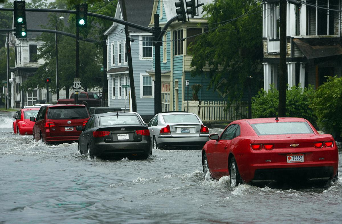 Downtown Rain and Flooding