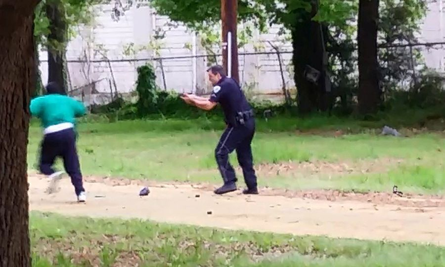 Header Header Header Subheader Subheader Report on evidence found at Walter Scott scene helps decipher video of shooting