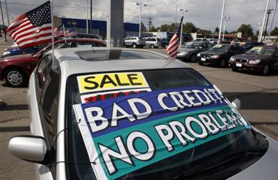 Credit score trouble likely means higher auto insurance rates (copy) (copy)