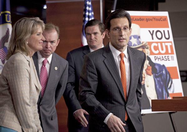 House Republicans let voters pick budget cuts