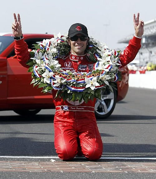 Flawless Franchitti wins Indy 500 again