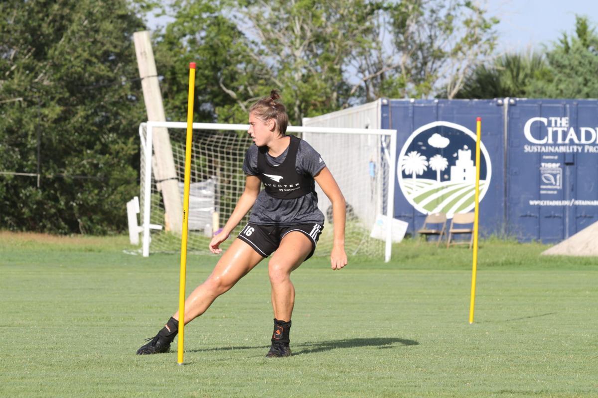 Logan Dix Citadel soccer